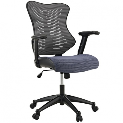 Clutch Task Chair in Gray