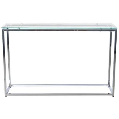 Sandor Glass Console Table