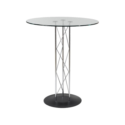 Trave-B Glass Bar Table
