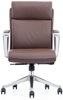 LOD65 Mid Back Leather Chair