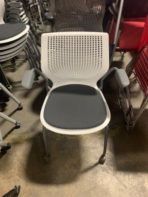 Knoll MultiGeneration Side Chairs on Casters