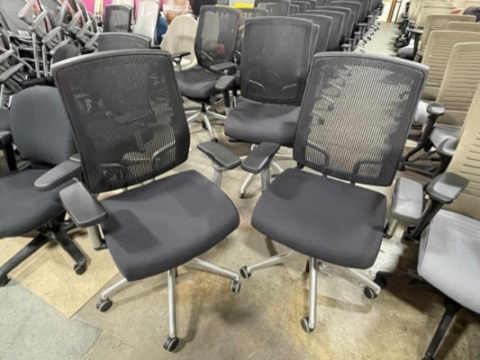 Focus Chairs with Black Seat