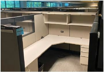 Knoll Dividends 6x8 Workstations