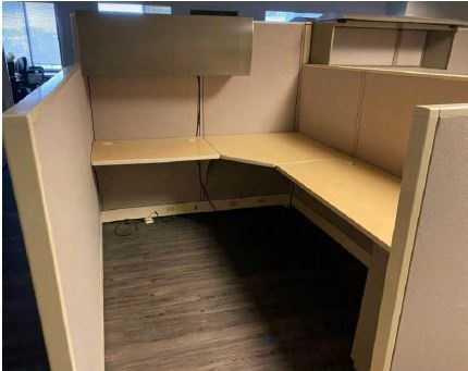 Allsteel Concensys 6x8 Workstations