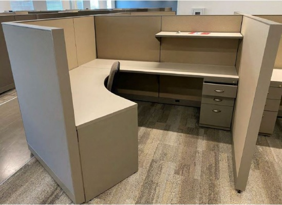 Steelcase Answer 7x7 Workstations