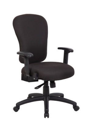 Boss Task Chair R-Pasadena-BK