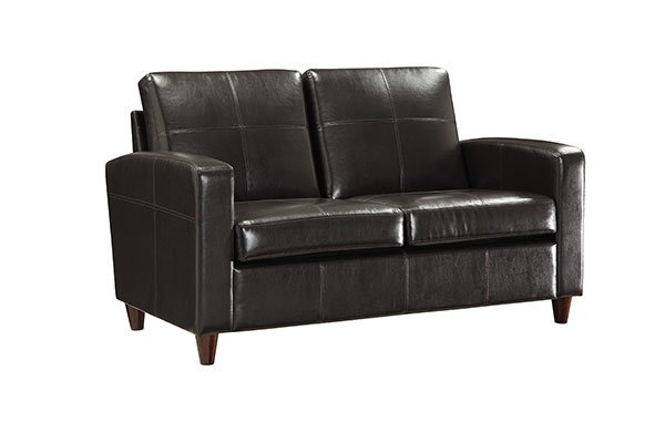Office Star Furniture Lounge Eco Leather Loveseat SL2812