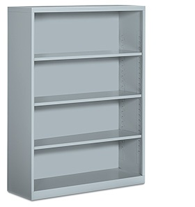 Global Total Office 4 and 6 Shelf Metal Bookcases 91SBC4-36